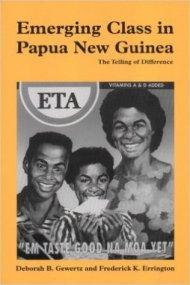 Emerging Class in Papua New Guinea - Book Cover